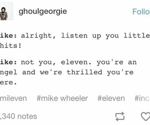 eleven, funny, and mike image