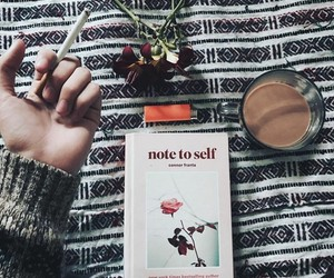 note to self, book, and tumblr image
