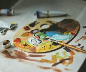 art, paint, and photography image