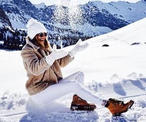 snow, winter wonderland, and winter image