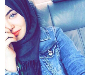 hijab, girl, and islam image