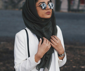 clothes, girls, and hijab image