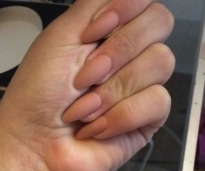 live, nails, and Nude image