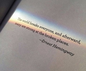 quotes, books, and broken image