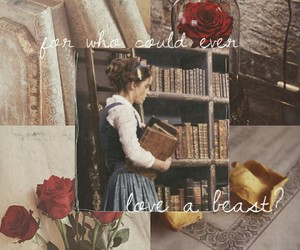 aesthetic, alternative, and beauty and the beast image