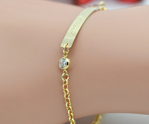 bracelet, etsy, and personalized jewelry image