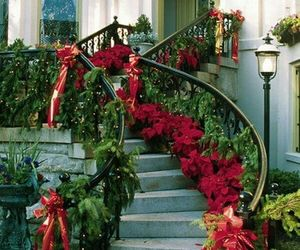 christmas, decor, and manison image