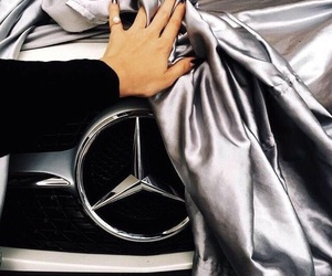 car, luxury, and mercedes image