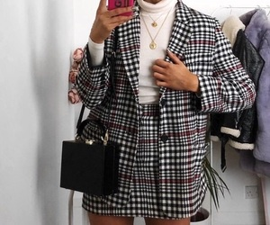 style, blazer, and fashion image