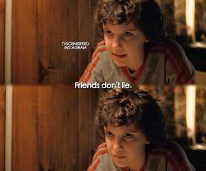 eleven, quotes, and stranger things image