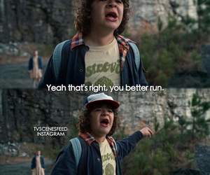 dustin, eleven, and quotes image