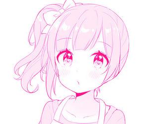 edit, pale, and shoujo manga image