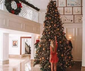 christmas, december, and girl image