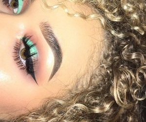 makeup, make, and beauty image