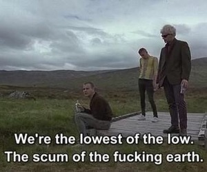 trainspotting, movie, and quotes image