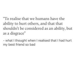 best friend, hurt, and quotes image