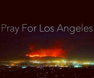 fires, la, and los angeles image