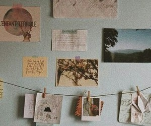 picture, vintage, and wall image