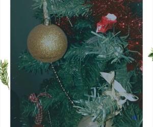 christmas, christmas tree, and instax image