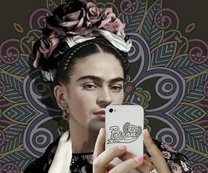Frida and selfie image