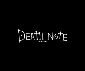 death note, anime, and wallpaper image