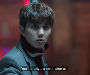 funny, kdrama, and im not a robot image
