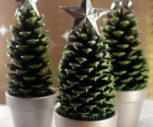 diy mini christmas trees image