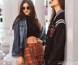 fashion, aesthetic style, and jean jacket image