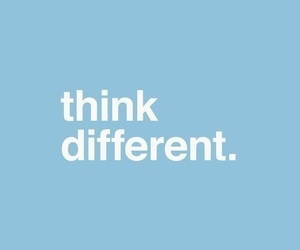 blue, quotes, and think image