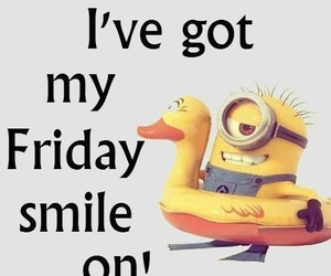 day, minions, and friday image