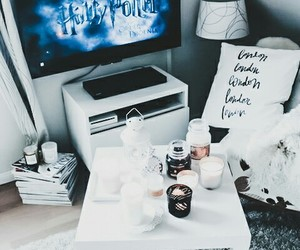 blue, christmas, and harry potter image