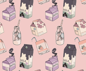 milk, wallpaper, and background image