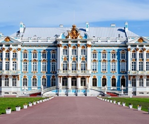 palace, catherine palace, and russia image
