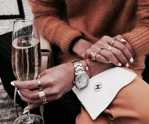 drinks, fashion, and outfits image
