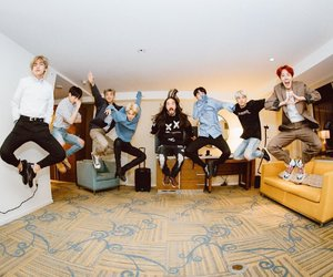 jin, bts, and steve aoki image