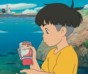 Ponyo, studio ghibli, and anime image