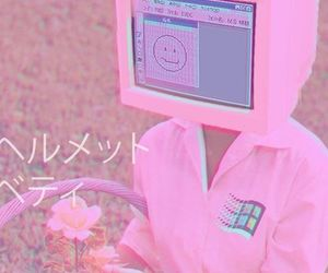 pink, aesthetic, and computer image