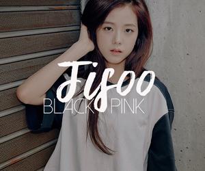edit, korean girl, and black pink image