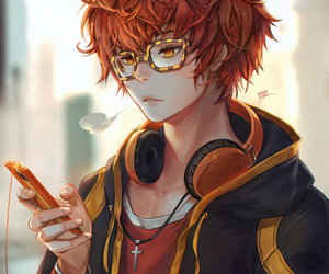 707, mystic messenger, and anime image