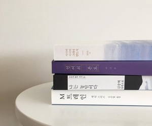 aesthetic, books, and violet image