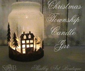 diy, christmas, and candle image