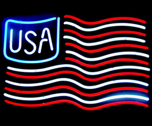 america, american flag, and blue image