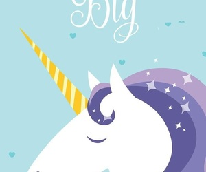 unicorn, wallpaper, and Dream image