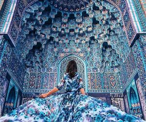 blue, fashion, and photography image