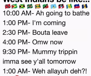 Caribbean, funny, and lol image