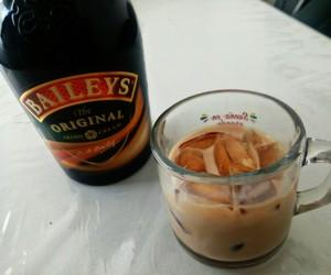 Baileys, bartender, and cafe image