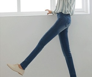 legs, skinny, and jeans image