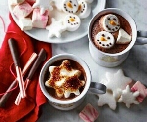 christmas, winter, and food image