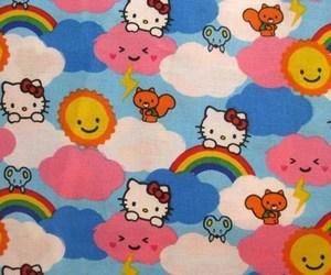 hello kitty and kidcore image