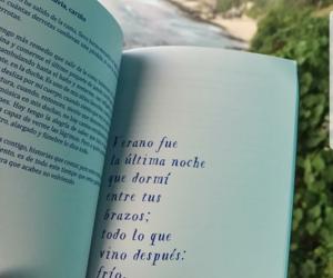 book, poema, and frases en español image